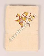 Махровое банное полотенце 1082M70 Бежевый