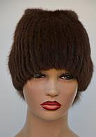 """Женская меховая шапка из ондатры """"Буратино"""", фото 1"""