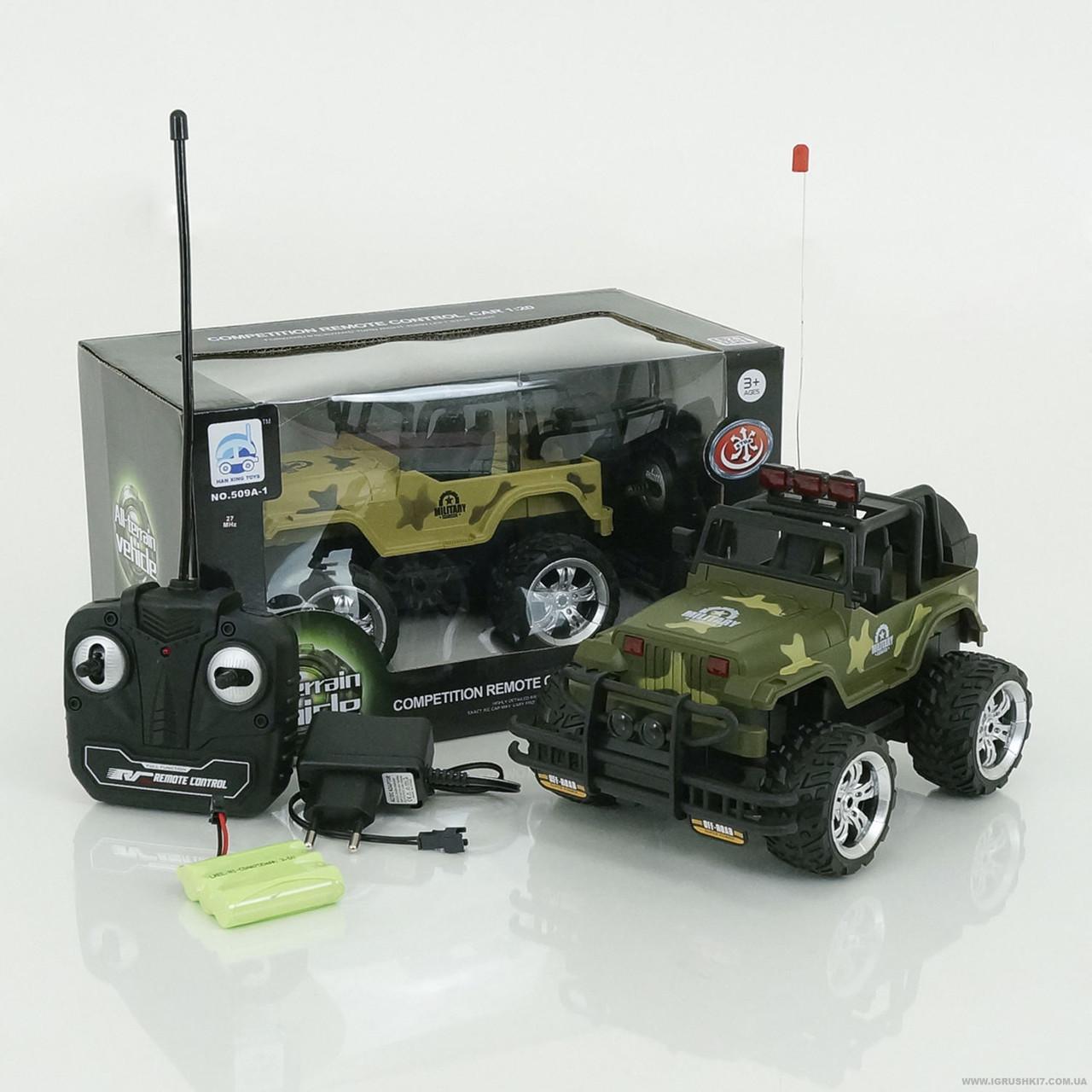 Машина военная на радиоуправлении (2 цвета) арт. 509 А-1