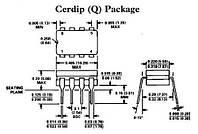 Операционный усилитель LM158JG TI CERDIP8