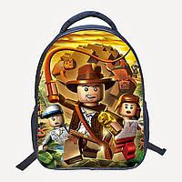 Рюкзак школьный герои мультфильма Lego