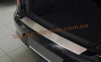 Накладка на задний бампер с загибом на ВАЗ 1117
