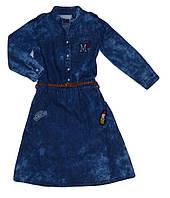Джинсовое платье для девочек оптом, Seagull, 134-164 рр., арт. CSQ-89065, фото 1