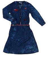 Джинсовое платье для  девочек оптом, Seagull, 134-164 рр., арт. CSQ-89067