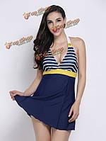 Платье для пляжа плавательные в морском стиле