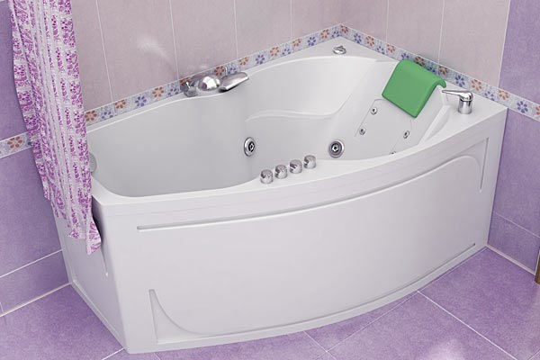 Акриловая ванна ТРИТОН ЛАЙМА 1600х950х670 (Правая)