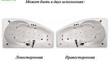 Акриловая ванна ТРИТОН ЛАЙМА 1600х950х670 (Правая), фото 3