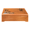 Шкатулка для сигар из красного дерева