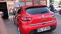 Кромка багажника нерж. Renault Clio IV