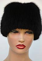 """Женская меховая шапка из ондатры """"Шарик-защип"""", фото 1"""
