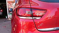 Накладка на задние фонари (нерж.) Renault Clio 4