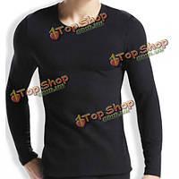 Yilanlu мужские лайкры хлопок термобелье утолщение нижнее белье