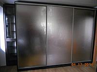 Шкаф-купе с зеркалом хим травление, фото 1