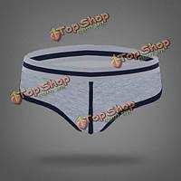 Сексуальные мужские спортивные трусы U выпукло сумка цвет сплайсинга белье