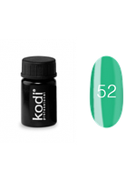 Гель-краска Коди (Kodi) для ногтей 52 (бирюзовая), 4 мл