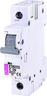 Автомат выключатель однополюсный ETI 50A С