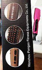 Расческа-выпрямитель для волос Hair Straightner Jin Bo Yang JBY-589 , фото 3