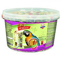 Vitapol (Витапол) Повнораціонний корм для Великих папуг 1,5 кг, відро