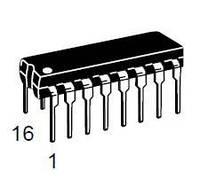 Логическая ИС MC14049BCPG ONS PDIP-16