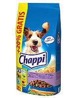 CHAPPI с тремя видами мяса 9 kg + 20% в подарок!
