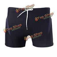 Летние мужчины купальники пляжные шорты белье боксер плавки
