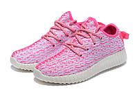 Женские кроссовки Adidas Yeezy boost 350 (Pink)  , фото 1