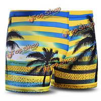 Мужчины плавках купальники спортивные шорты-боксеры внутренний брюки