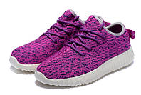 Женские кроссовки Adidas Yeezy boost 350 (Purple)  , фото 1