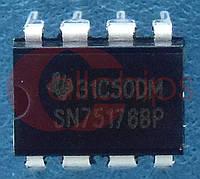 Линейный приемопередатчик RS485 TI SN75176BP DIP8