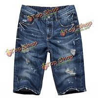 Шорты мужские синий джинс Denim