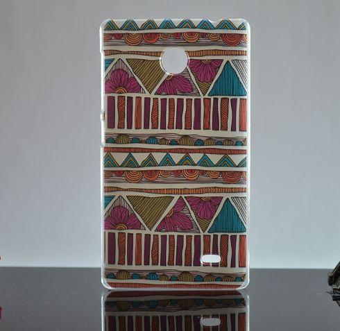 Оригинальный чехол бампер для Nokia X с рисунком Узоры