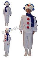 Детский костюм Снеговика рост 122