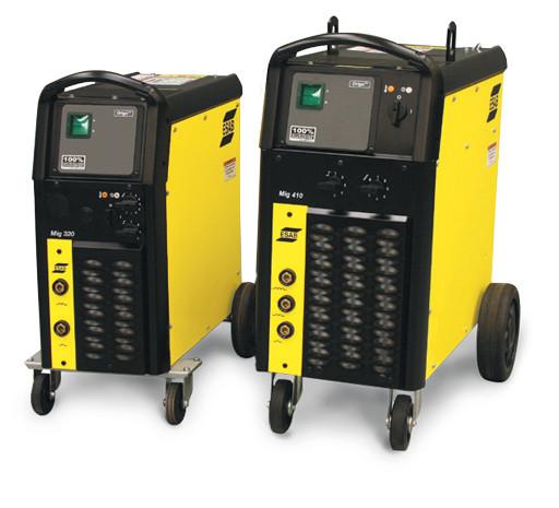 Сварочный аппарат с выносным подающим механизмом Origo Mig 410 V/A
