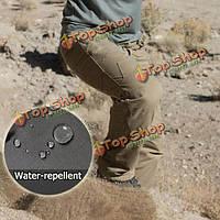 Esdy мужская открытый тактические водоотталкивающие штаны тефлон DWR командир покрытие тактические брюки