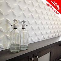 Декоративная стеновая панель 3D Сапфир