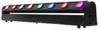 FREE COLOR BL810RGBW Светодиодная панель вращаемых лучей. 8 светодиодов по 10 Вт 4-в-1 CREE RGBW. 28 каналов DMX. Угол вращения 270°. Вес 11.5 кг