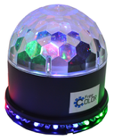 FREE COLOR BALL31 Светодиодный световой прибор Mini Sun Ball. 3 светодиода по 1 Вт  + 48 светодиодов 10 мм. Авторежим, звуковая активация