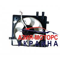 Вентилятор радиатора (5 крепления) левый  Geely CK ( Джили СК) 1602191180