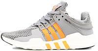 Мужские кроссовки Adidas EQT Running (адидас) серые