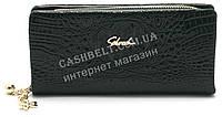 Женский удобный кошелек барсетка зелного цвета SACRED art.858A-12, фото 1