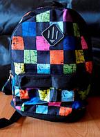 Рюкзак детский,городской объем 10 литров (кубики)