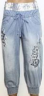 Бриджи джинсовые для женщин р. 29    арт. 6803