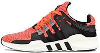 Мужские кроссовки Adidas EQT Running (адидас) оранжевые