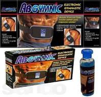 Пояс миостимулятор AB Gymnic с гелем