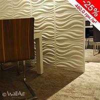 Декоративная стеновая панель 3D Волны 2