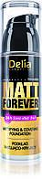 Delia Matt Forever Матирующий тональный крем с кроющим эффектом, Тон карамель №47