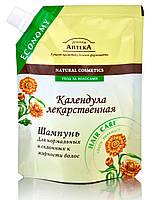 "Шампунь "" Календула лекарственная""   ТМ "" Зеленая аптека"", 200 мл. Дой-пак"