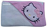 """Уголок для купания с капюшоном """"Hello Kitty"""" Piramit"""