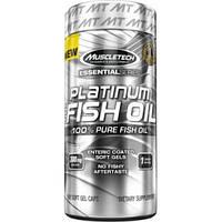 MuscleTech Platinum Fish Oil 1000 mg 100 softgels