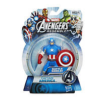 "Фигурка Капитан Америка ""Коллекция Героев"" - Captain America, Avengers, Assemble, Hasbro, 9.5CM"